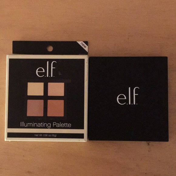 New Elf Illuminating Palette With Mirror 4 Shades
